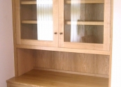 Fitted Oak Alcove Cabinet