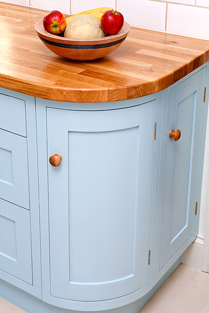 Curved Kitchen Unit Mark Rhodes